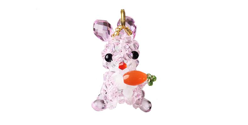 クリスタルペット 【人参ウサギ】