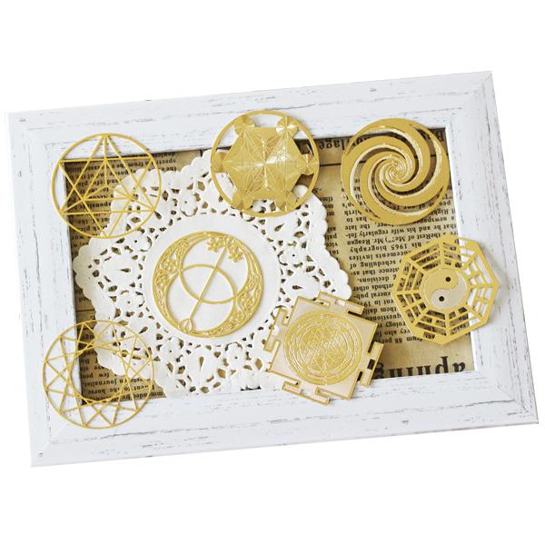 神聖幾何学すかしパーツ: image 1