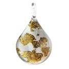 Glass Jewelryグラスジュエリー ペンダント(ティアドロップ)039【パッケージ付き】