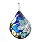 Glass Jewelryグラスジュエリー ペンダント(ティアドロップ)048【パッケージ付き】